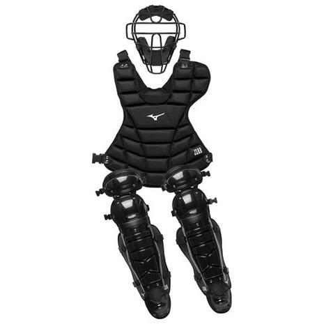 ミズノ(MIZUNO) 軟式捕手防具3点セット 1DJPC00709 (Men's、Lady's)