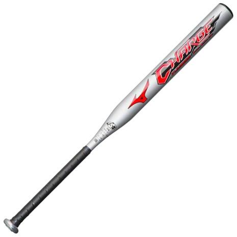 ミズノ(MIZUNO) ソフトボール用金属製バット チャージ 84cm/平均660g 3号ゴムボール用 1CJMS30684 03 (Men's、Lady's、Jr)