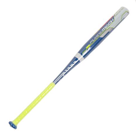 ローリングス(Rawlings) ソフトボール用金属製バット フライングマッハ ミドルバランス 83cm/平均580g BSR8FFLMA-RY-83 (Men's、Lady's)