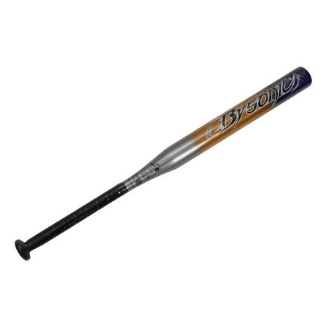 ゼット(ZETT) 少年ソフトボール用カーボン製バット バイソニック 75cm/480g平均 BCT52845-1300 (Jr)