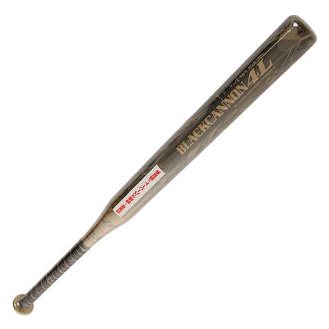 ゼット(ZETT) ジュニア ソフトボール用バット ブラックキャノン4L 80cm/平均540g BCT52878-8200 (Jr)