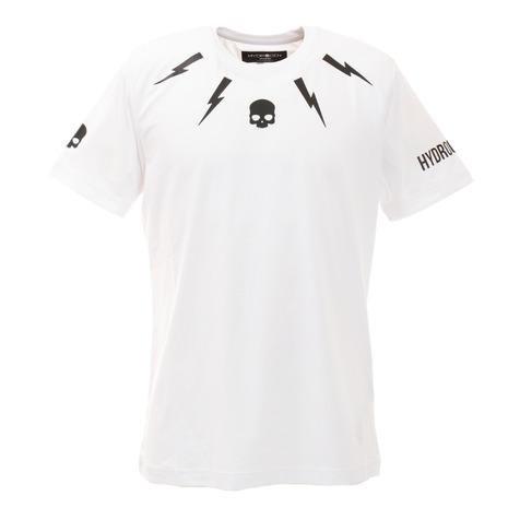 ハイドロゲン(HYDROGEN) TECH STORM 半袖Tシャツ T00120 WHT/BLK (Men's)