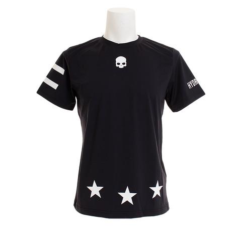 ハイドロゲン(HYDROGEN) TECH 17 ロゴTシャツ T00084BLACK (Men's)