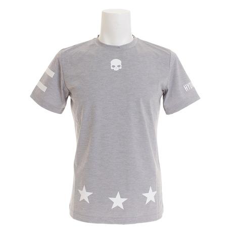 ハイドロゲン(HYDROGEN) TECH 17 ロゴTシャツ T00084GREY (Men's)