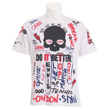 ハイドロゲン(HYDROGEN) LIMITED EDTION Tシャツ T00130 WHITE (Men's)