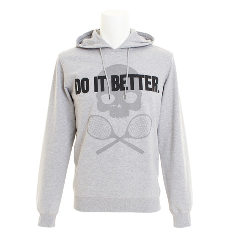 ハイドロゲン(HYDROGEN) DO IT BETTER ロゴパーカー T00088GREY (Men's)