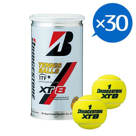 ブリヂストン(BRIDGESTONE) 硬式用テニスボール XT-8 2球入 30缶 60球 1ケース XT-8ケース ## (Men's、Lady's、Jr)