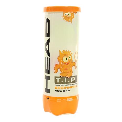 予約販売 ヘッド HEAD ジュニア 硬式用テニスボール T.I.P 578123 驚きの値段 自主練 キッズ ORANGE