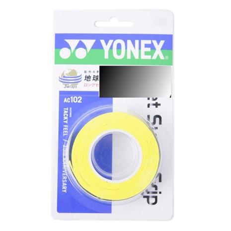 スーパースポーツゼビオ市場店 ヨネックス テニス小物 トラスト グリップテープ 3本入ウェット YONEX テニスグリップテープ ウェットスーパーグリップ プレゼント レディース AC102-004 メンズ キッズ 3本入り