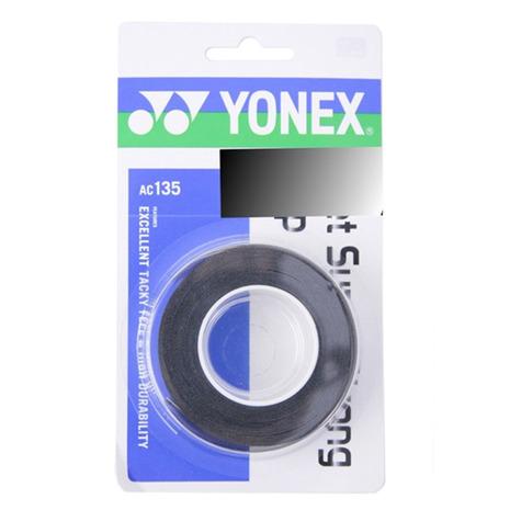 スーパースポーツゼビオ市場店 ヨネックス テニス小物 春の新作シューズ満載 グリップテープ 3本入ウェット YONEX テニスグリップテープ メンズ キッズ レディース ウェットスーパーストロンググリップ AC135-007 3本入 送料無料カード決済可能