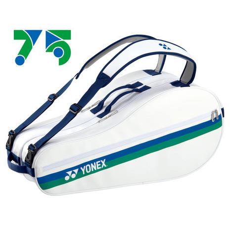 ショップ 発売モデル ヨネックス YONEX テニス ラケットケース 75TH テニス6本用 ラケットバッグ6 BAG02RAE-011 レディース メンズ