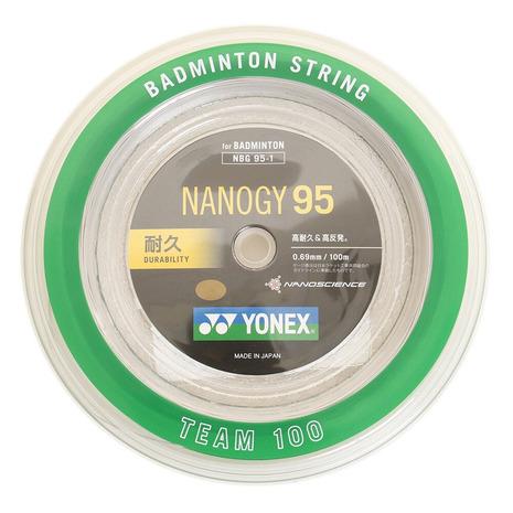 ヨネックス(YONEX) バドミントンストリング ナノジー95 ロール100M NBG95-1-024 (Men's、Lady's、Jr)