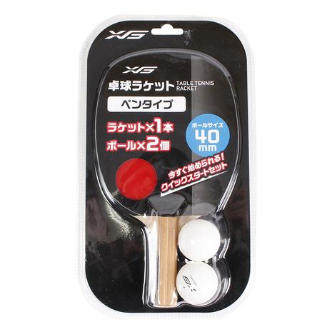 スーパースポーツゼビオ市場店 エックスティーエス 卓球 卓球ラケット ペン型貼りあがりラケット 激安価格と即納で通信販売 XTS メンズ 豪華な レディース キッズ 貼り上がり 740G8CM9354 ペンタイプ