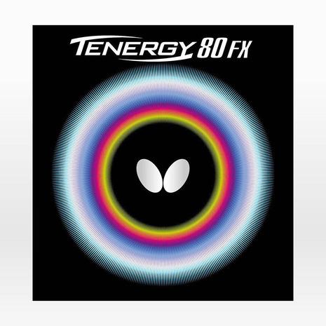 バタフライ(Butterfly) 卓球ラバー テナジー 80FX BLK 05940 (Men's、Lady's、Jr)