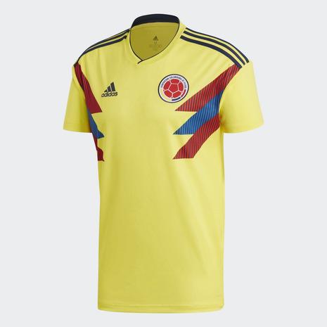 アディダス(adidas) コロンビア代表 ホームレプリカ 半袖ユニフォーム EVF42-CW1526 (Men's)