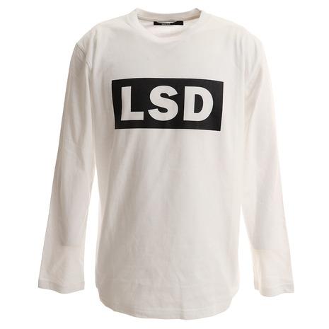 SY32 LUXURY SPORTS DESIGN ボックスロゴ ロングスリーブTシャツ 9128T GRY (Men's)