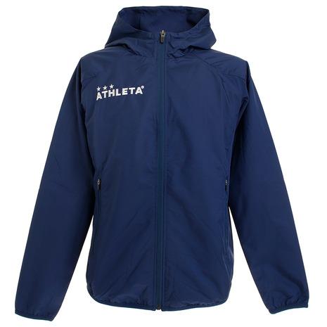 新商品 アスレタ ATHLETA サッカー ウェア メンズ XE-344 ウインドジャケット NVY 裏付き 市販