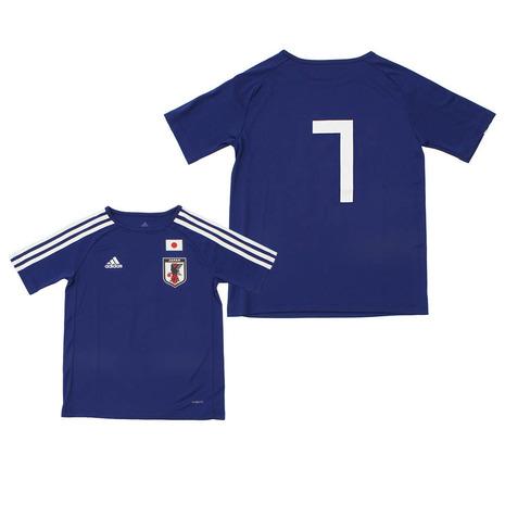 アディダス(adidas) KIDS サッカー日本代表 ホームレプリカTシャツ No,7 CZO79-CJ3986 (Jr)