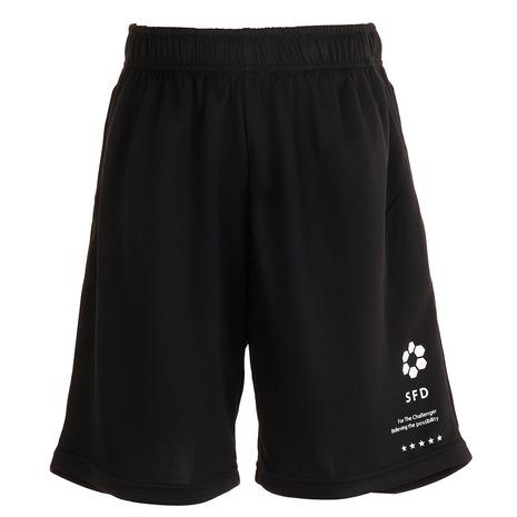 スフィーダ 贈物 SFIDA サッカー ジュニア パンツ キッズ お得なキャンペーンを実施中 プラクティスパンツ XA-20S01JR ニットポケット付き 黒