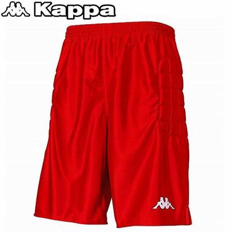 カッパ 優先配送 Kappa サッカー ジュニア パンツ KFCG7702 百貨店 キーパーパンツ 赤 キッズ