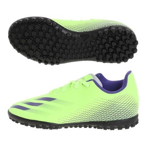 アディダス(adidas) ジュニアサッカートレーニングシューズ エックスゴースト.4 TF J EG8229 サッカーシューズ トレシュー (キッズ)