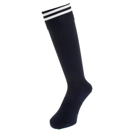 ジローム GIRAUDM SALE開催中 サッカー ソックス ドライプラス ライン 授与 ストッキング ネイビー 750GM9OK002-NVY-J 靴下 キッズ