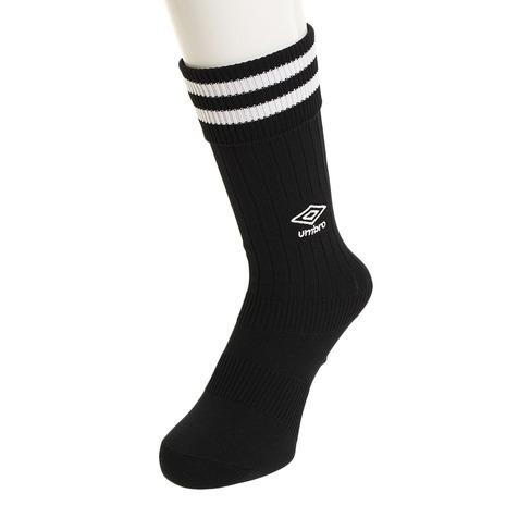 アンブロ UMBRO サッカー ソックス お気に入り ジュニア プラクテイス キッズ ストッキング 靴下 BLK18 UBS8810 ランキング総合1位