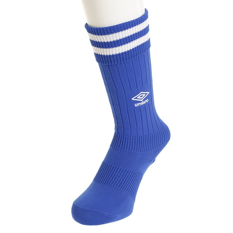 アンブロ UMBRO サッカー ソックス ジュニア プラクテイス BLU18 キッズ 永遠の定番モデル 靴下 卓抜 UBS8810 ストッキング