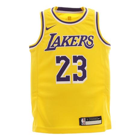 エヌビーエー NBA 倉庫 ジュニア レブロン ジェームズ 待望 ロサンゼルス アイコン レイカーズ ユニフォーム キッズ PZ2B7BZ2P-JAMES