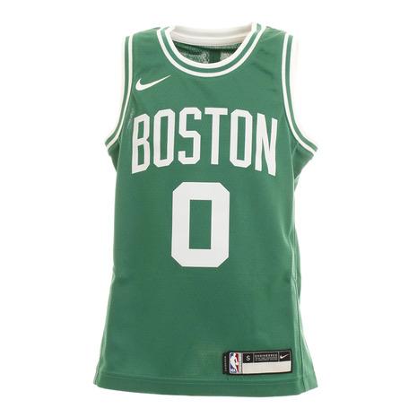 エヌビーエー 品質保証 NBA ついに再販開始 ジュニア ジェイソン テイタム ボストン アイコン キッズ PZ2B7BZ2P-Tatum ユニフォーム セルティックス