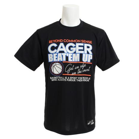 お得 SALE スーパースポーツゼビオ市場店 アシックス バスケットウエア Tシャツ 半袖Tシャツ ASICS 多少の傷汚れありの為大奉仕 バスケットボール Tシャツ メンズ 半袖 クールプリント ウェア XB6631.90B