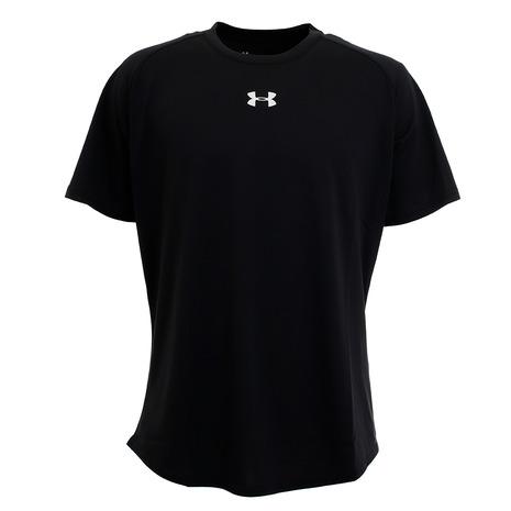 アンダーアーマー UNDER ARMOUR Tシャツ メンズ 半袖 ロングショット 1359632 BLK ウェア 至上 1.5 入手困難 バスケットボール BK