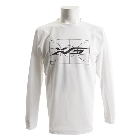 エックスティーエス(XTS) Tシャツ メンズ 長袖 ドライW 吸汗速乾 バスケグラフィックシャツ 751G8ES8701 【バスケットボール ウェア】 (メンズ):SuperSportsXEBIO支店