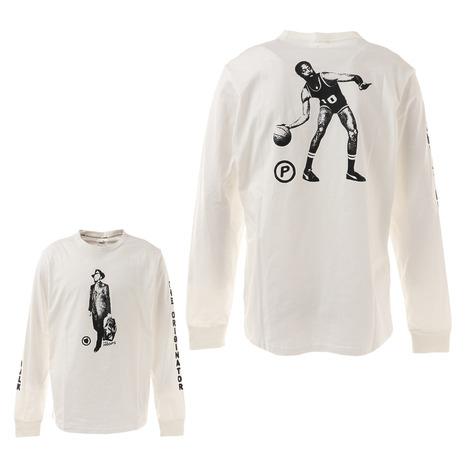 プーマ PUMA フランチャイズ ロングスリーブTシャツ 大規模セール 53051201 メンズ バスケットボールウェア 新作 人気 レディース