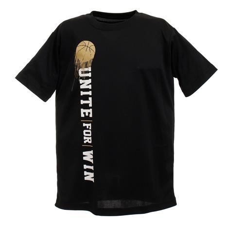 エックスティーエス XTS Tシャツ ジュニア 半袖 新品■送料無料■ 751G0CD8239 吸汗速乾 新品未使用正規品 キッズ ウェア ドライ BLK バスケットボール