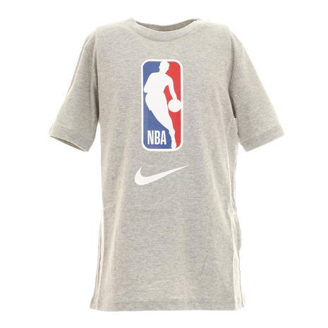 お洒落 エヌビーエー NBA ジュニア TEAM31 PZ2B7BCJB-GY キッズ バスケットボールウェア 買取 TシャツB