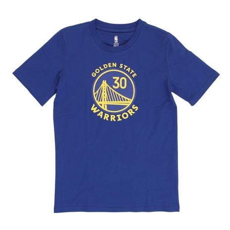 エヌビーエー 品質検査済 新品 送料無料 NBA ジュニア ネームナンバーTシャツ ステファン カリー ウォリアーズ PK2B7TD99B01-CURRY キッズ ゴールデンステート バスケット