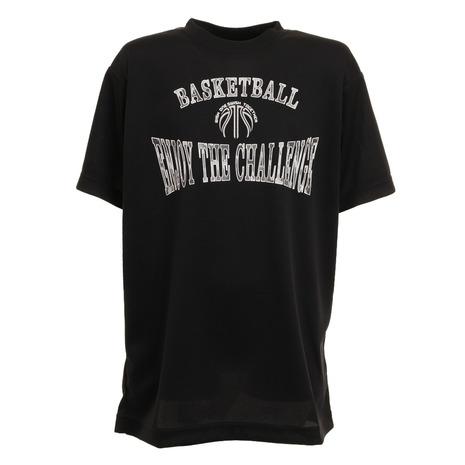 ついに再販開始 エックスティーエス XTS 大放出セール ジュニア デオパーツ 半袖Tシャツ キッズ 751G1ES4425 バスケットボールウェア BLK