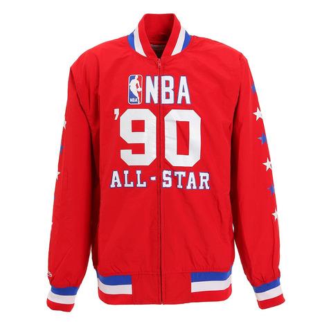 ミッチェルアンドネス(Mitchell&Ness) NBA ALL STAR TEAM 1990 HISTORY ウォームアップジャケット BA57OG-ASG-R-K4S-M (Men's)