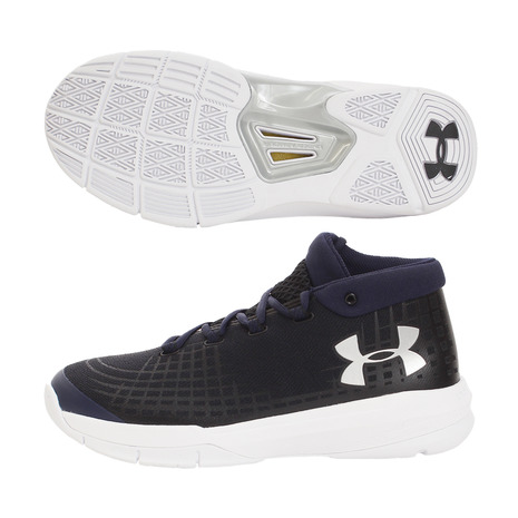 アンダーアーマー(UNDER ARMOUR) NXT Nihon 3020766 BLK/MDN/MSV BK バッシュ (Men's)