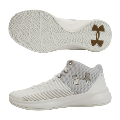 アンダーアーマー(UNDER ARMOUR) サージ #3021073 WHT/WHT/MFG BK (Men's)
