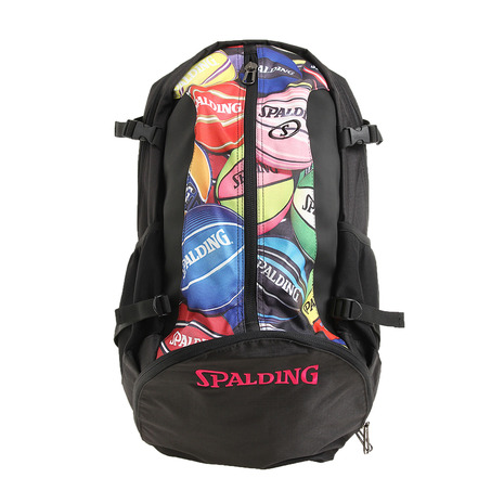 スポルディング SPALDING バックパック ケイジャー CAGER BPM 送料込 キッズ バスケットボール 40-007BPM レディース (訳ありセール 格安) メンズ バッグ