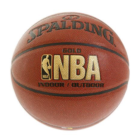 マーケティング スーパースポーツゼビオ市場店 スポルディング SPALDING バスケットボール 7号球 一般 大学 高校 7 男子用 ゴールド 74-559Z 自主練 中学校 ブランド品 メンズ コンポジット