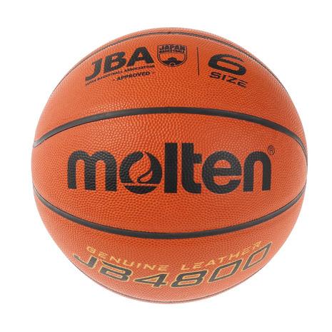スーパースポーツゼビオ市場店 ボール モルテン 激安☆超特価 molten バスケットボール 6号球 一般 大学 JB4800 買い物 自主練 中学校 高校 レディース 女子 B6C4800 検定球
