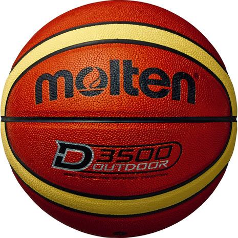 スーパースポーツゼビオ市場店 モルテン molten バスケットボール 6号球 一般 大学 レディース 中学校 高校 新作製品 世界最高品質人気 D3500 B6D3500 自主練 女子 送料込
