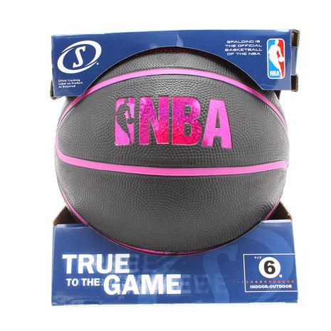 スポルディング(SPALDING) バスケットボール6号 ホログラム ラバー レッド 83-661J (Lady's)