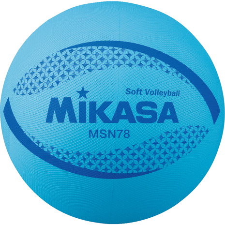 ミカサ MIKASA ソフトバレーボール 自主練 メンズ 信託 レディース キッズ MSN78-BL 入手困難