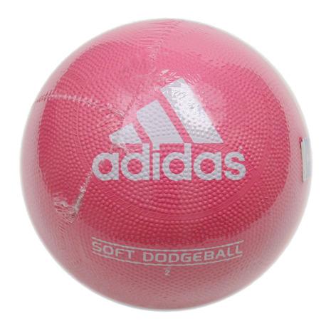 スーパースポーツゼビオ市場店 アディダス ボール ドッチボール ドッチボール2号球 adidas ピンク 2号球 AD210P ソフトドッジボール 超激得SALE 特価 キッズ