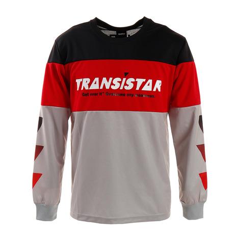 トランジスタ(TRANSISTAR) 長袖ゲームシャツ フラッグスイッチ HB19AT06-06 (Men's)