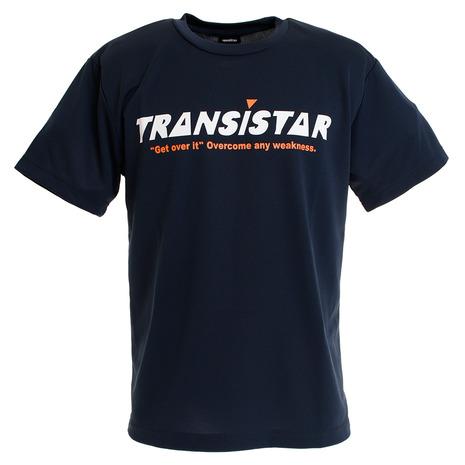 ポイント10倍~!要エントリー!3月1日0:00~23:59まで トランジスタ(TRANSISTAR) 半袖Tシャツ コーション2 HB19TS16-48 (Men's)